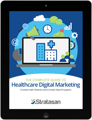 Healthcare Digital Marketing eBook Cover